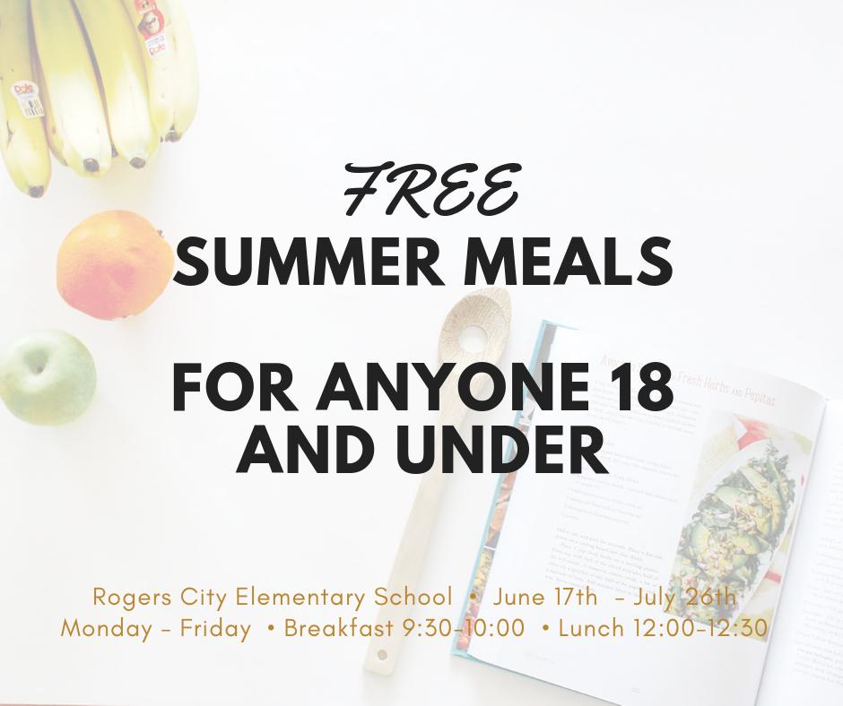 Rogers City Area Schools - Free Summer Food